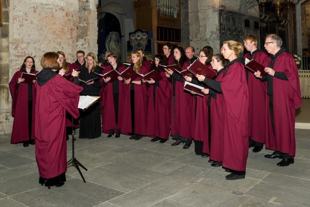 Lassus Scholars en concert. Irland Juin 2014