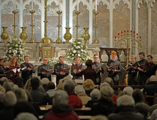 LASSUS in St Mary's Church, Haddington Road, Nov 10th 2017